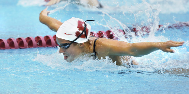 Stanford, CA; Friday  November 2, 2012: Swimming, Stanford vs Wisconsin.