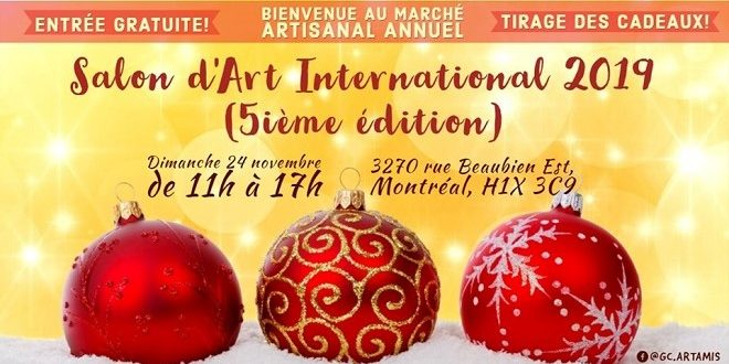 Salon d'Art International-2019 приглашает